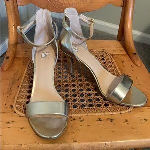 Nordstrom gold heel sandal